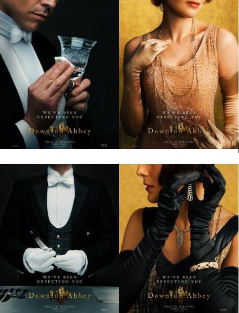 《唐顿庄园电影版》曝角色海报 9月英美上映