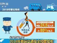 公安部发布2018年春运交通安全预警发布