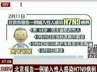 2017北京H7N9禽流感最新消息:第二例确
