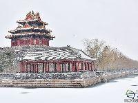 2017年2月21日北京第一场雪美了美了