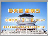 2017年3月3日全国两会北京交通出行提示