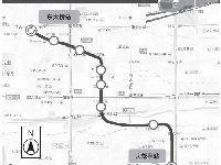 北京地铁CBD线最新规划图:设8座车站