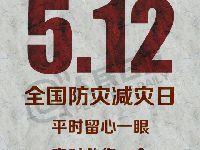 5月12日是什么纪念日?全国防灾减灾日防