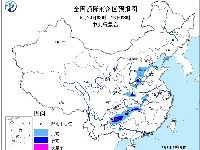 2017年5月22日未来三天全国天气预报:华
