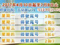 2017端午节北京连续4天不限行 5月31日尾
