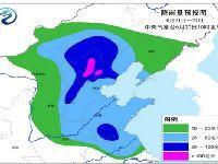 2017年6月21日-24日全国天气预报:华北
