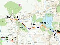 北京现代有轨电车西郊线沿线车站名称命