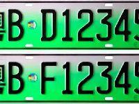 新能源车专用号牌将全国启用 号牌式样及