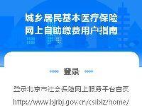 北京城乡居民基本医疗保险网上自助缴费
