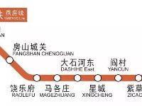 北京地铁燕房线开通时间、经过站点及首