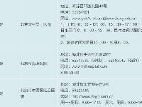 北京海淀儿科诊疗医院地址电话出诊时间