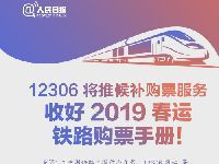 12306候补购票12月27日上线 如何操作涉