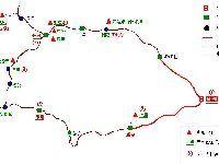 成都到川西自助游攻略(地图+路线+景点