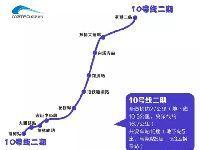 成都地铁10号线二期经过哪些地方