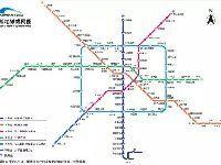 2017年成都地铁开通运营线路图