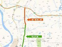 渝广高速线路图(一期+二期)