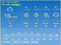 重庆天气预报(持续更新)