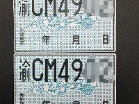 重庆临时牌照多少钱