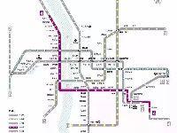 长沙地铁4号线成功下穿2号线