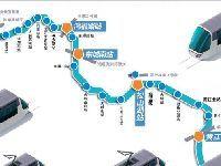 东莞地铁1号线线路图