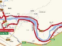 2017环福州国际自行车赛路线(永泰段)