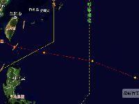 2017第18号台风最新动态 台风泰利生成