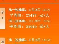 2017年10月广州车牌竞价第一次、第二次