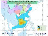 """2017年第23号台风""""达维""""预计登录时间"""