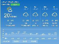 2017年11月16日广州天气预报:白天多云