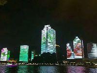 广州夜景新地标——珠江24栋建筑动画演