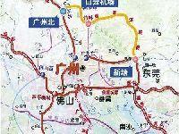 珠三角城际铁路新白广城际铁路最新线路