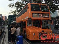 广州两线双层巴士被暂时叫停 原因为未进