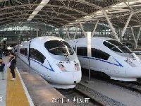 2017春运广州站恢复10趟广深城际动车组