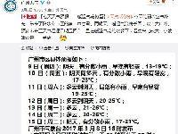 广州气温逐日明显回升 湿度比较大街坊记