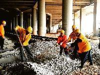 2017年4月广州地铁13号线最新进度:土建