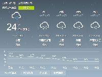 2017年4月11日广州天气预报:阴天 有雷