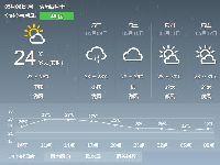2017年5月8日广州天气预报:阴天 有大雨