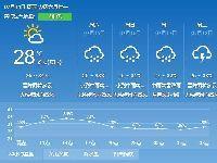 2017年7月14日广州天气预报:晴到多云