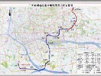 2018年广州地铁10号线最新线路图