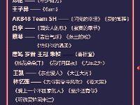 2019东方卫视跨年盛典节目单(官方版)
