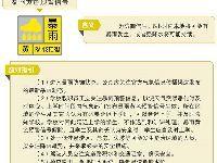 广州暴雨黄色预警信号要不要上学?