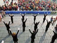 黄印村社区举行趣味运动会
