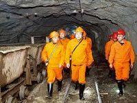 周先旺到铜绿山铜铁矿井检查生产安全工