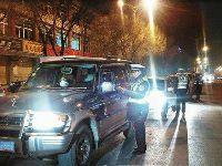 拉萨市交警支队夜查交通 2小时查处3起酒