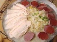 牡丹江美食白肉血肠的做法