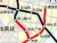 南京地铁s8南延线审批通过 两站点均在江