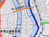 韶关市区将新建中山路跨浈、武江大桥