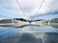 韶关云门山玻璃桥 广东省首座全透明高空