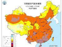 中央气象台:2017清明小长假全国天气预报