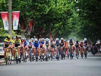 2017环崇明岛女子公路自行车赛举行 周边